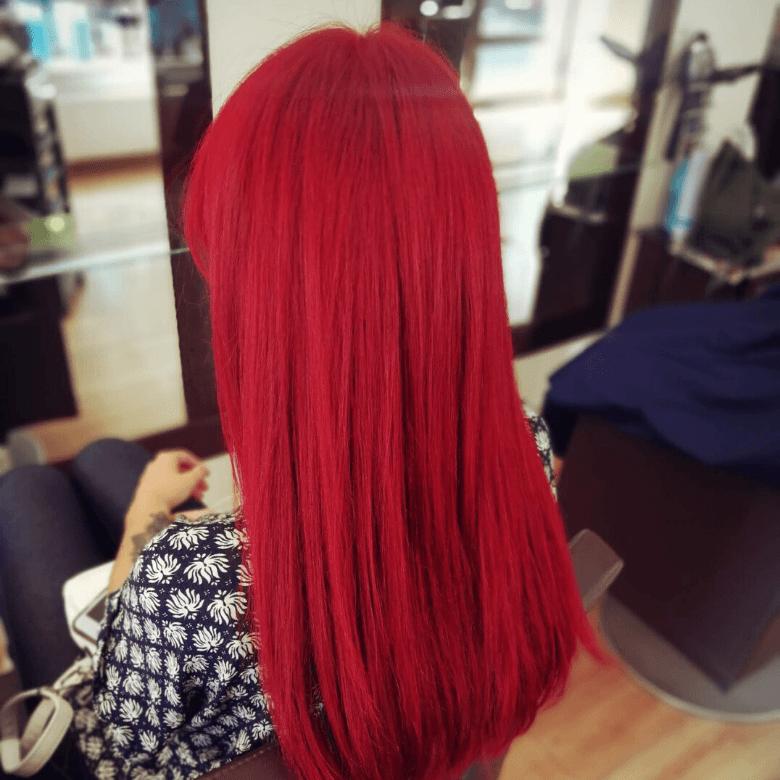 Fryzjer Pszczyna - modne kolory włosów, czerwone włosy